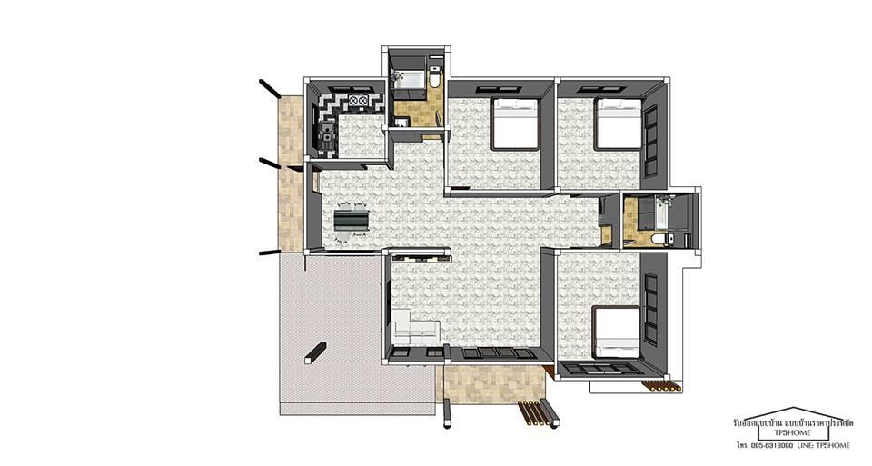 รูปแผนผังบ้าน