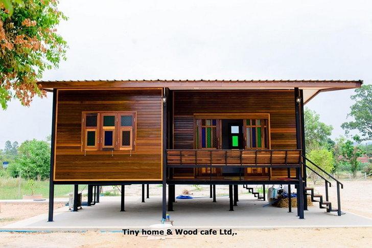 รีวิวสร้างบ้านไม้